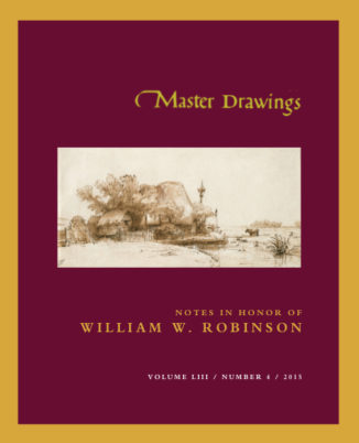 Master Drawings, Volume 53 No. 4 (Winter 2015)