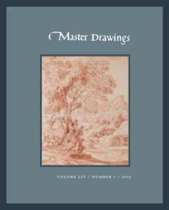 Master Drawings, Volume 54 No. 1 (Spring 2016)