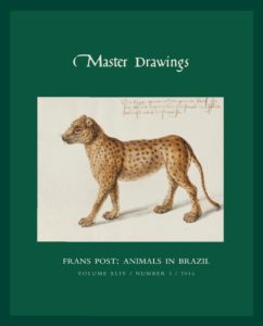 Cover, Master Drawings, Volume 54 No. 3 (Fall 2016)