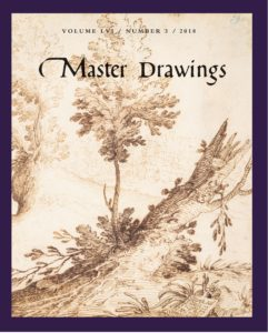 Cover, Contents, Master Drawings, Volume 56 No. 3 (Fall 2018)