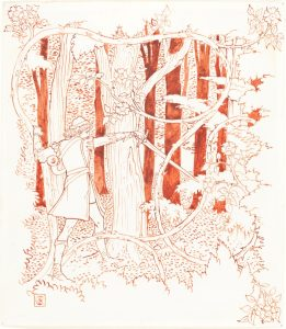 Charming in the Forest, Walter Crane, National Gallery of Art