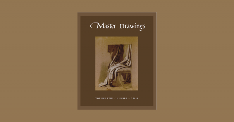 Cover, Master Drawings Volume 58, No. 3 (Fall 2020) - NEWS POST