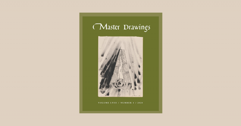 Cover, Master Drawings Volume 58, No. 4 (Winter 2020) NEWS POST