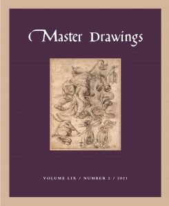 Cover, Master Drawings Volume 59, No. 2 (Summer 2021)