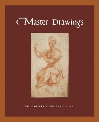 Cover, Master Drawings Volume 59, No. 3 (Fall 2021)